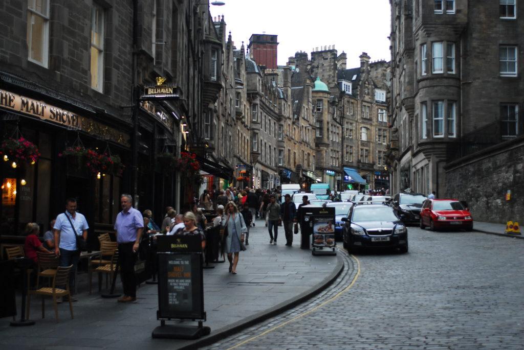 Strade di Edinburgo